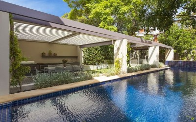 6 Dalton Rd, Mosman - pool area